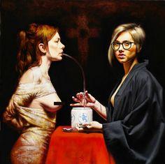 Surrealism, surreal art, surrealist © Saturno Butto. More: www.ohsosurreal.com