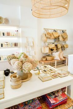 Our first-ever brick-and-mortar store has been open for just over a month now, and it is still a dream come true! Thank you to the Studio Lifestyle team for helping make this dream a reality. Shop Interior Design, Retail Design, Store Design, Interior Styling, House Design, Gift Shop Interiors, Store Interiors, Boutique Decor, Boutique Ideas