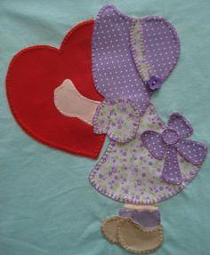 ~Angie's Textile Art, Quilts & Crafts~ : Quiet But Busy! Hand Applique, Applique Patterns, Applique Quilts, Applique Designs, Quilt Patterns, Boy Quilts, Scrappy Quilts, Mini Quilts, Sunbonnet Sue