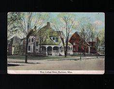 1910 West College Street Rochester Minnesota Post Card