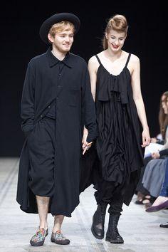 Fashion in Motion: Yohji Yamamoto. July 1st, 2011. l Victoria and Albert Museum #fashion