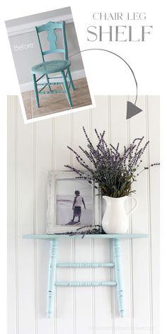 Shelf made from repu
