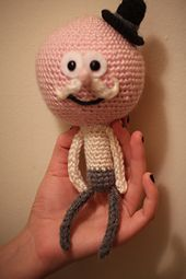 Ravelry: PDF of Pops from Regular Show pattern by Colleen Lunney