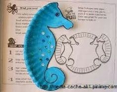 27 Ideas For Ocean Art Projects For Kids Sea Theme Eric Carle Kids Crafts, Summer Crafts, Preschool Crafts, Projects For Kids, Art Projects, Arts And Crafts, Preschool Christmas, Christmas Crafts, Diy And Crafts Sewing