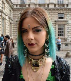 Another beautifully original look at this season's London Fashion Week. #LFW | Mint Velvet