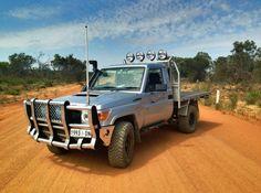 Land Cruiser Car, Land Cruiser 70 Series, Toyota Land Cruiser, Toyota Vehicles, Toyota Cars, Truck Mods, Suv Trucks, Ute Camping, Landcruiser Ute