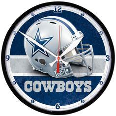 Dallas Cowboys NFL Round Wall Clock