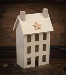 Factory Direct  Salt box house ready for painting...This site is awesome and they have some pretty good and great prices for things I cant find...