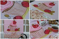 Pintura em tecido - Vamos pintar um cupcake? - Artes Mariana Santos
