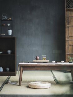 Decor Interior Design, Interior Styling, Interior Decorating, Cafe Bar, Chinese Tea Room, Tea Room Decor, Natural Wood Decor, Japan Interior, Zen Space