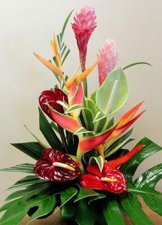 tropical arrangement - Google Search