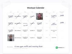 Keeping a workout calendar is essential. Create yours with WorkoutLabs Pro