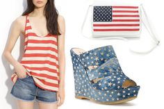 4th Of July Fashion- Red White And Blue Fashion