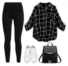 49 Trendy Boots Black Outfit Jeans Casual Source by o. - 49 Trendy Boots Black Outfit Jeans Casual Source by outfits jeans - Teen Fashion Outfits, Mode Outfits, Jean Outfits, Fall Outfits, Summer Outfits, White Outfits, Outfits With Black Jeans, Edgy Teen Fashion, Womens Fashion