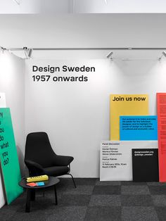 New Name, Logo, and Identity for Design Sweden by Parasol and Letters from Sweden - Identity Design - Logo, Logotype, Swiss Design, Typographic, Clean, Minimal, Bright Colors