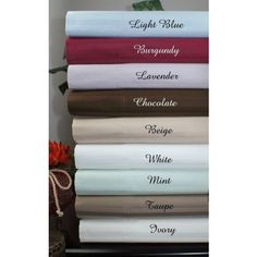 1200 Thread Count Striped Egyptian Cotton Bed Sheet Sets in King