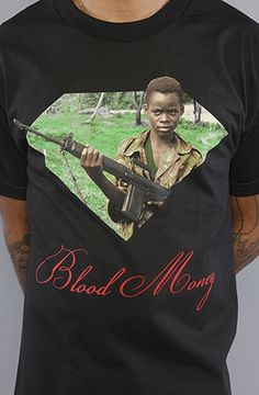 $34 The Blood Money Tee in Black by Diamond Supply Co. on #karmaloop -- Use repcode SMARTCANUCKS at the checkout for 20% off your order -- http://www.lovekarmaloop.com