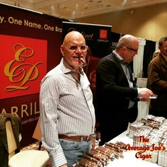 Mr. Boutique Cigar Ernesto Perez-Carrillo. #theaveragejoescigars #forthenewandcasualsmoker #joeslatestjourney #smokinjoes #smokinpics #epcarrillo
