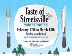 Taste of Streetsville is on until March 13