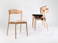 Sedia in legno TUBE by Miniforms design Giopato