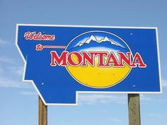 Troy is close to the Idaho border so I see these signs frequently. I am always glad to get back home to Montana.