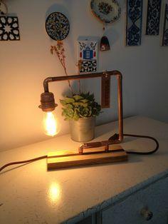 Wood & Light & Cupper