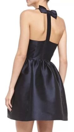 Kate Spade New York Bow Back Dress in Navy