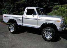 old pickup trucks 1979 Ford Truck, Old Pickup Trucks, Ford 4x4, Lifted Ford Trucks, Chevy Trucks, F150 Truck, Ford Bronco, Classic Pickup Trucks, Ford Classic Cars