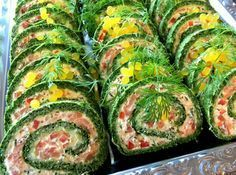 Spinatroulade med laks…