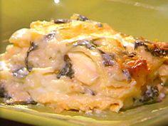 Fresh Crabmeat and Lobster Lasagna Recipe : Emeril Lagasse : Recipes : Food Network