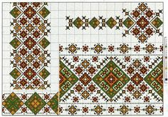 Cross stitching , Etamin and crafts: Traditional cross stitch Pattern Russian Cross Stitch, Cross Stitch Rose, Cross Stitch Borders, Cross Stitch Charts, Cross Stitching, Cross Stitch Patterns, Folk Embroidery, Cross Stitch Embroidery, Embroidery Patterns