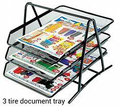 M&G 3 TIER MESH DOCUMENT / PAPER TRAY ORGANIZER, Black MG http://www.amazon.in/dp/B00IK3E9KG/ref=cm_sw_r_pi_dp_Ao8vxb15TSHT9