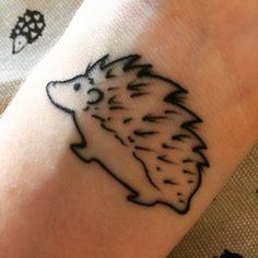 ideas about Hedgehog Tattoo on Pinterest | Tattoos Ladybug tattoos ...