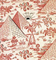 Textile, France, Circa 1850