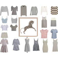 My silhouettes - stripes Capsule Wardrobe, Silhouettes, Stripes, Stuff To Buy, Shopping, Design, Women, Fashion, Moda