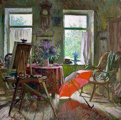 art-and-dream:    Art painting byAbakoumov, MG