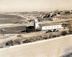 PALOS VERDES:  1920's Malaga Cove school in Palos Verdes and South Bay.