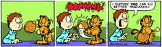Garfield | Daily Comic Strip on February 8th, 1991