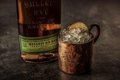 Bulleit Rye is exceptionally smooth, with hints of vanilla, honey, and spice. The bourbon's finish is crisp and clean, with long, lingering flavours. Kentucky Mule, Bulleit Bourbon, Rye, Whiskey Bottle, Crisp, Spice, Vanilla, Bubbles, Honey