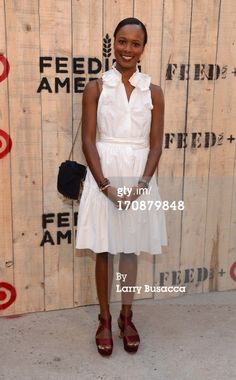 Shala Monroque attends FEED USA Target launch event…