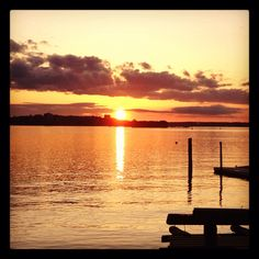 Peaks Island Sunset, Maine  Can't wait to see this in person! Katie & Marcus' wedding = so soon :)
