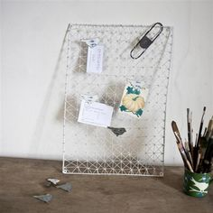 Memo Board - Wire frame » Pretty Dandy