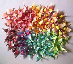100 Origami Cranes Paper Crane Origami Crane Origami by origamiyyc, $17.00