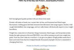 http://fitwomenforlife.com Eat Good Quality Protein!