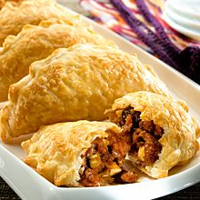 Argentinean-Style Beef Empanadas- easy switch to vegetarian just subtract the beef
