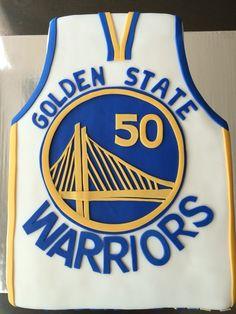 Golden state Warriors cake Basketball Cookies, Basketball Party, Basketball Birthday, Ball Birthday Parties, Boy Birthday, Birthday Basket, Stephen Curry Birthday, Sport Cakes, Valentine Cake