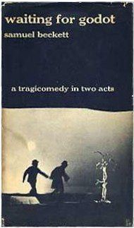 Waiting for Godot by Samuel Beckett.     Traded in @ Canterbury Tales Bookshop / Book exchange / Guesthouse / Cafe, Pattaya.