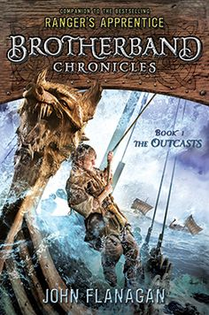 The Brotherband Chronicles: The Outcasts by John Flanagan just started reading these!!