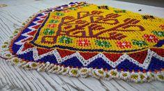 parche bordado etnico boho tribal india banjara por azulcasinegro