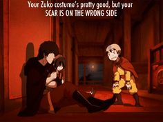Look at Zuko in the first part of the gif, his mouth hangs open :P <--hahaha I never noticed that before